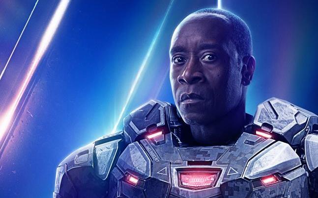Character poster di Avengers: Infinity War dedicato a War Machine