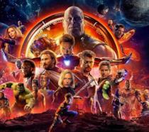 Immagine promozionale di Avengers: Infinity War