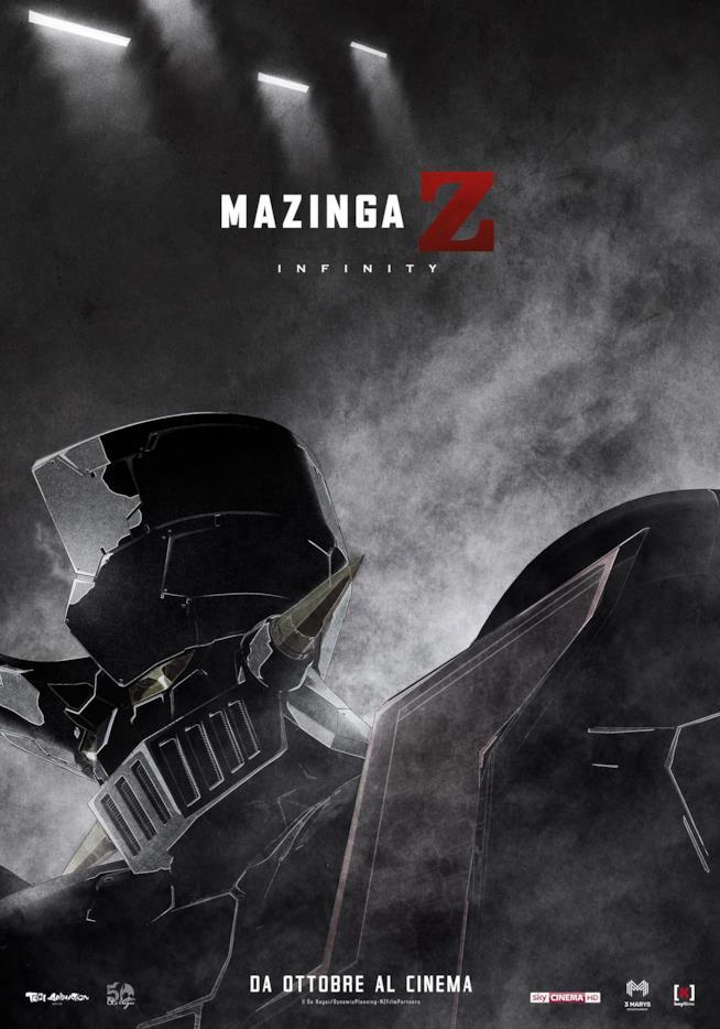 Il nuovo poster di Mazinga Z Infinity