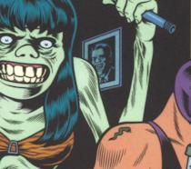 La copertina del fumetto di Burns