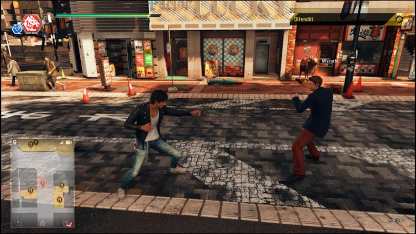 Yagami stili di combattiment