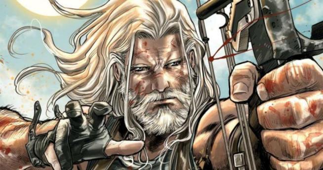 La cover del primo numero di Old Man Hawkeye