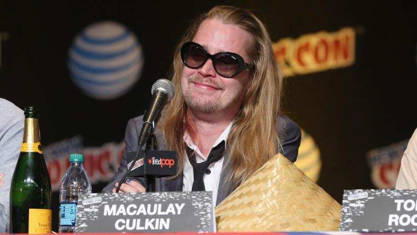 Macaulay Culkin in conferenza stampa