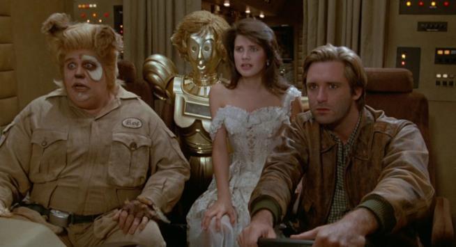 I protagonisti di Balle Spaziali: Rutto, Dorothy, la Principessa Vespa e Stella Solitaria