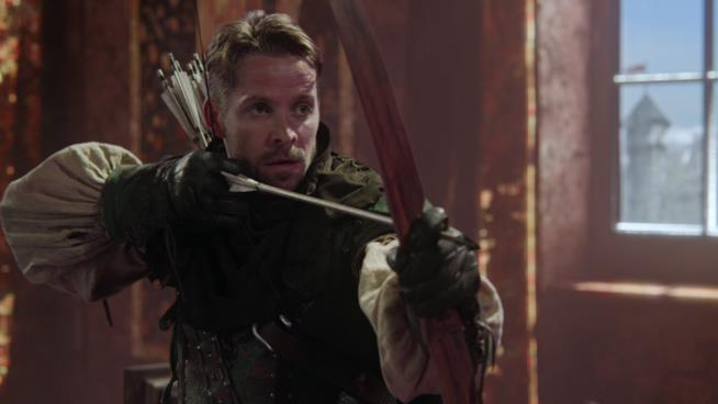 Un'immagine di Robin Hood in C'era una volta