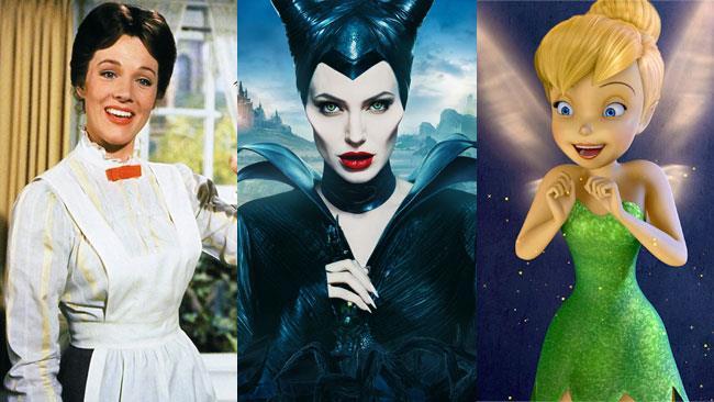 Mary Poppins, Malefica e Campanellino