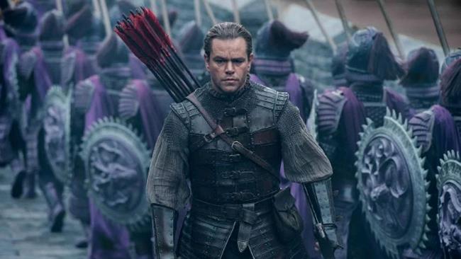 Matt Damon nel film The Great Wall