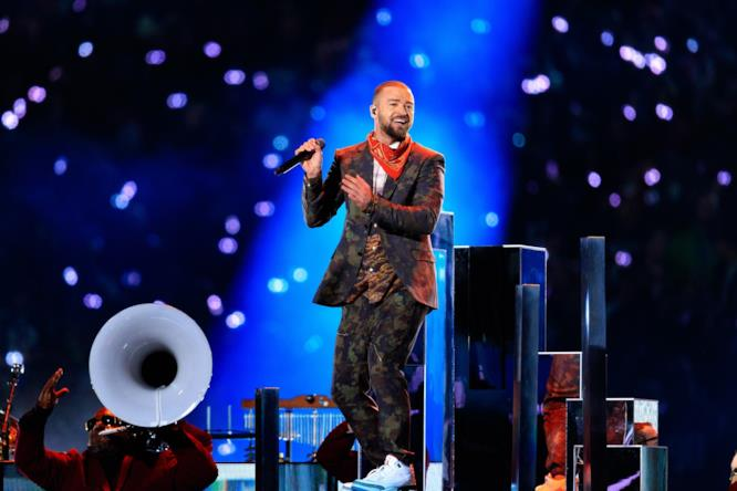 Justin Timberlake canta al Super Bowl