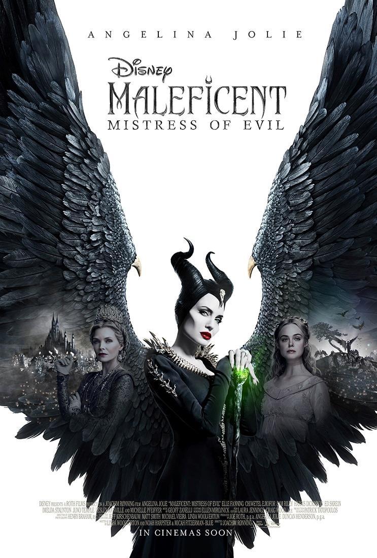 La locandina internazionale di Maleficent - Signora del Male