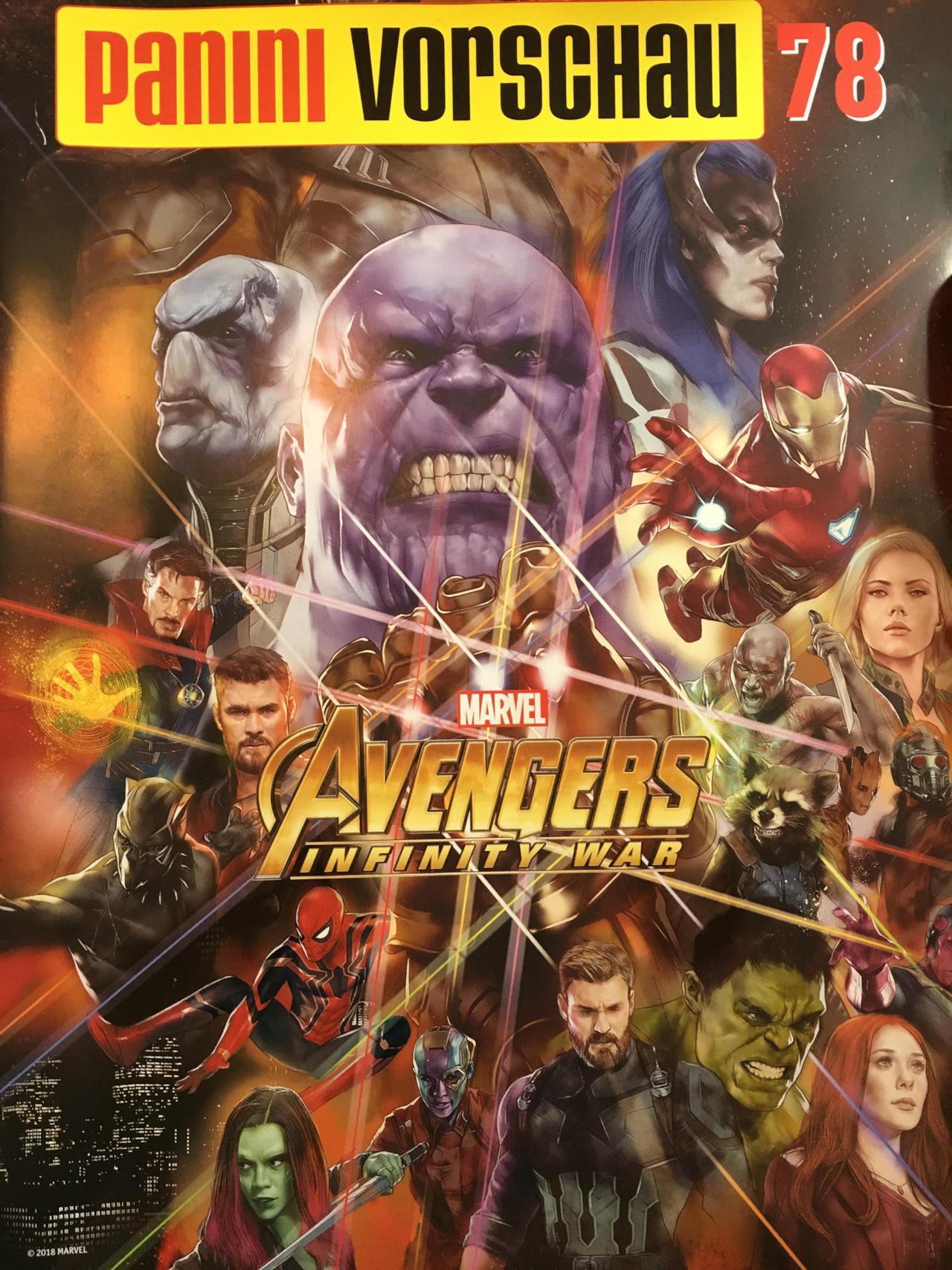 Avengers Infinity War le Gemme dell 39 Infinito e il Black
