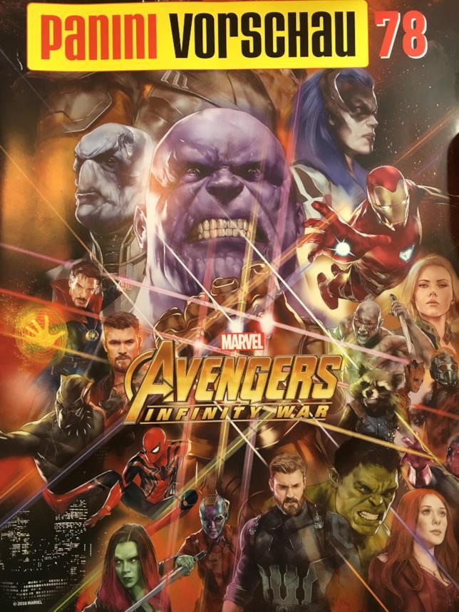 Thanos e il Black Order nella promo art