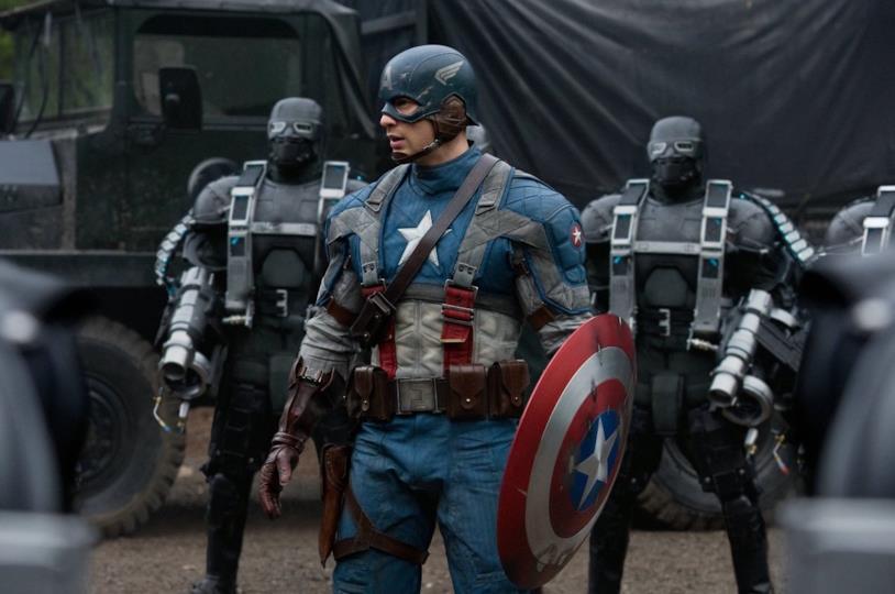 Chris Evans nel film