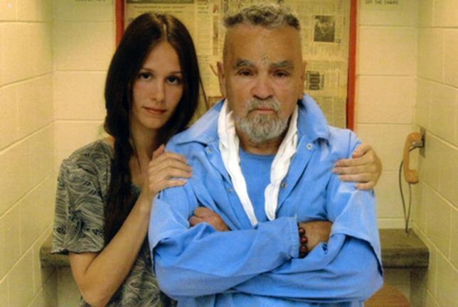 Charles Manson e Afton Elaine Burton