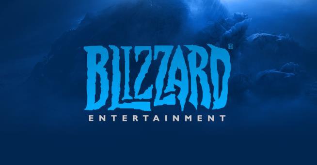 Il logo di Blizzard Entertainment, parte di Activision Blizzard