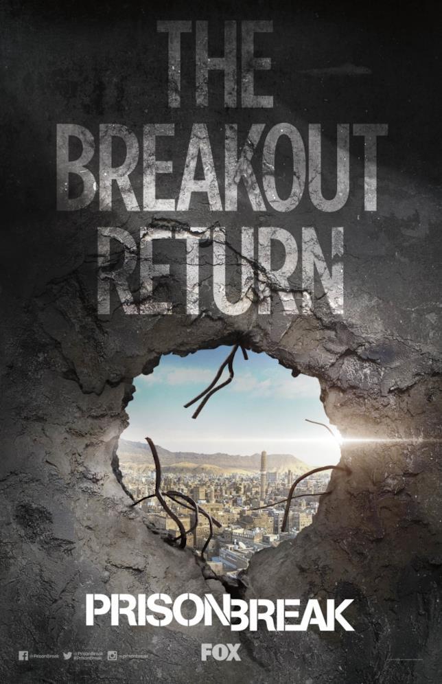Prison Break Poster Ufficiale