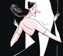 La cover di Sempre Libera nei disegni di Lorenza Natarella