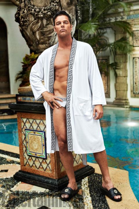 Il cantante Ricky Martin