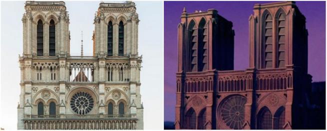 La cattedrale gotica de Il Gobbo di Notre Dame