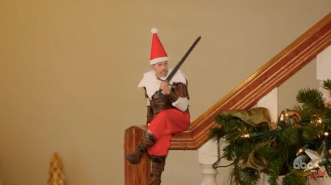 Jamie Lannister è un elfo sul corrimano
