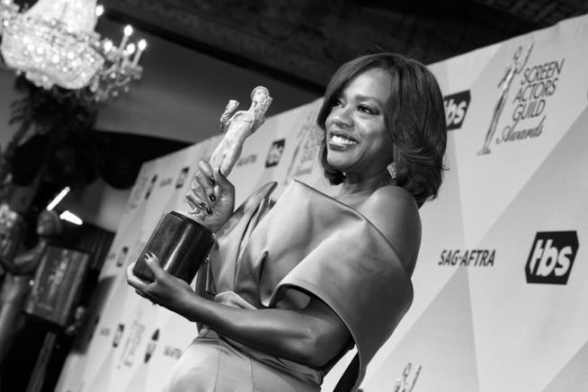 Viola Davis premiata ai SAG Awards 2016