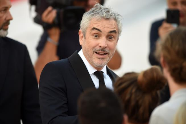 Alfonso Cuaron a Venezia per il film Roma