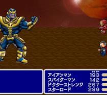 I protagonisti di Avengers: Infinity War in stile 16-bit