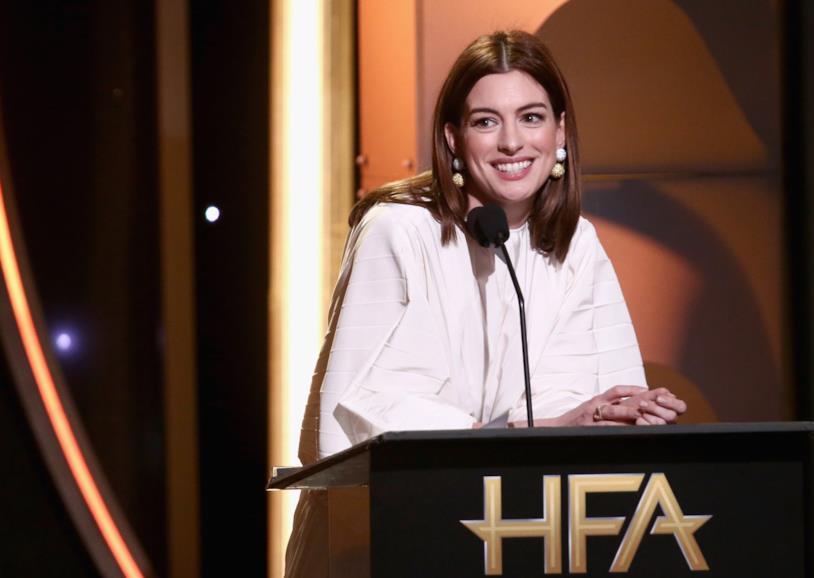 L'attrice statunitense al 22esimo Hollywood Film Awards