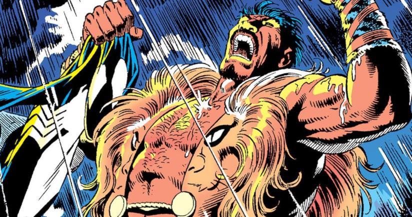Una tavola Marvel dedicata a Kraven il Cacciatore