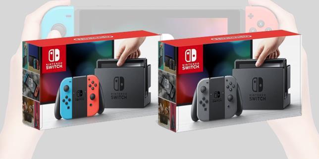 Le differenti versioni di Nintendo Switch