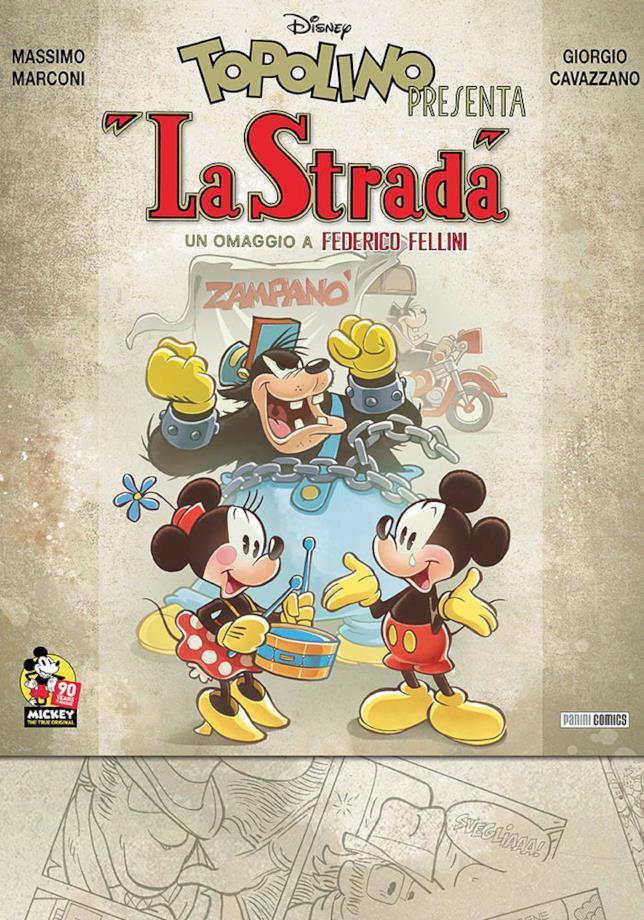 """La cover di Topolino presente """"La Strada"""""""