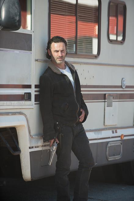 Rick in attesa della partenza