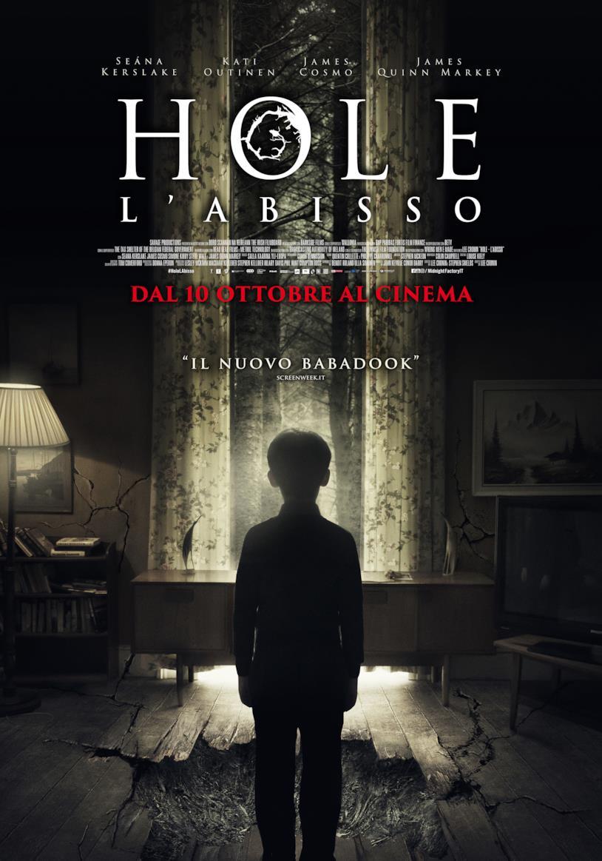La locandina ufficiale italiana del film Hole - L'abisso