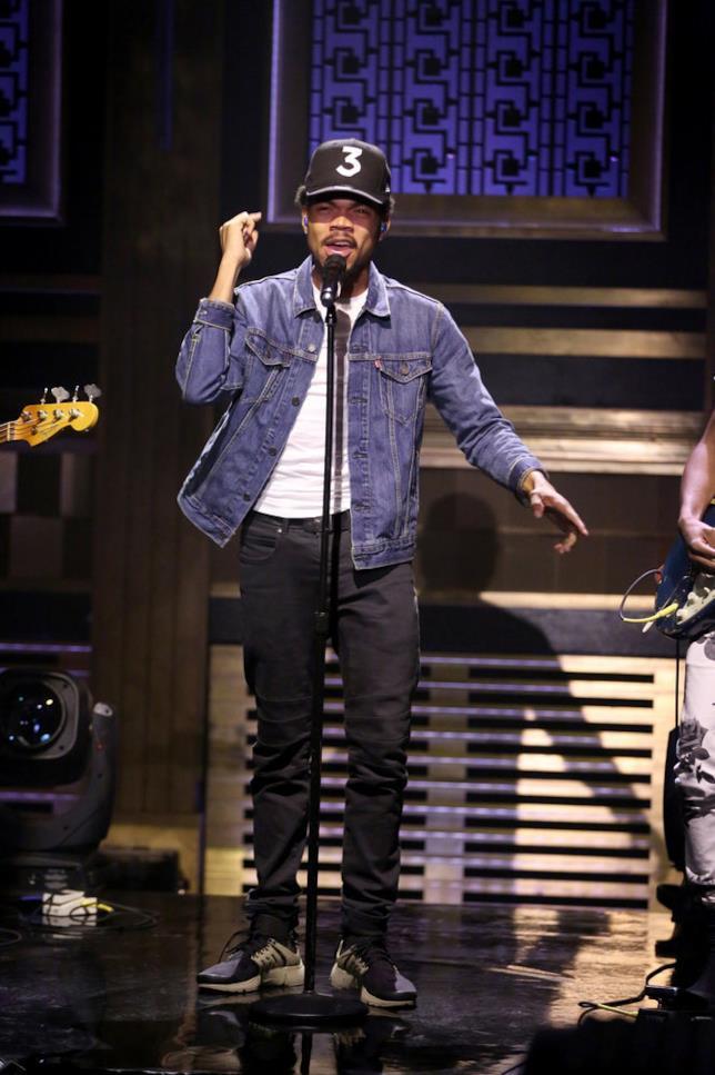 Chance The Rapper ospite da Jimmy Fallon