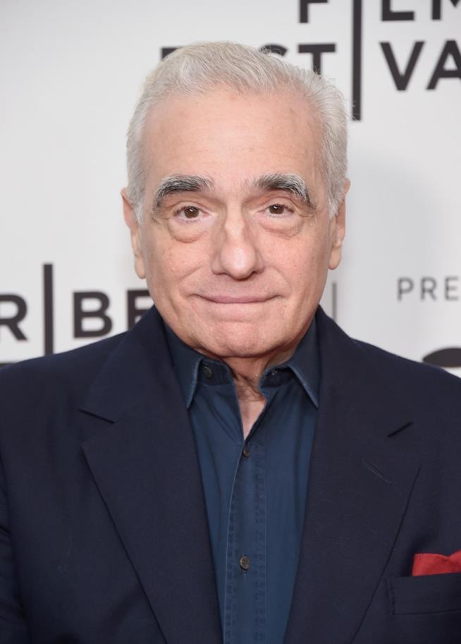 Martin Scorsese in una foto recente