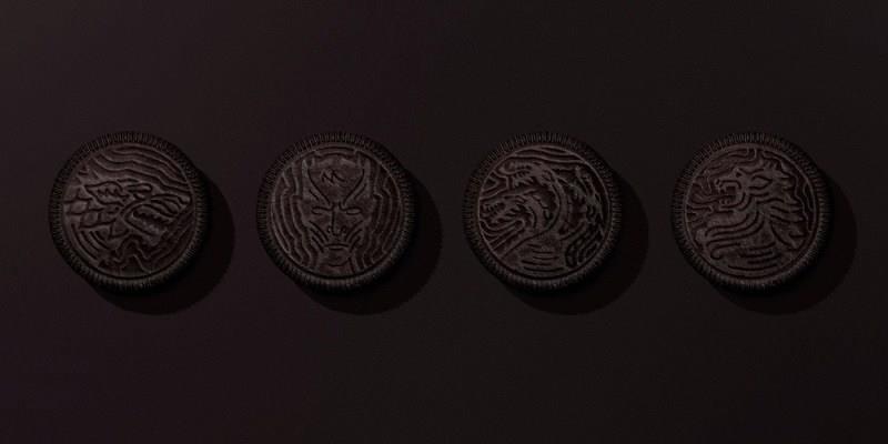 I quattro tipi di Oreo dedicati a Game of Thrones