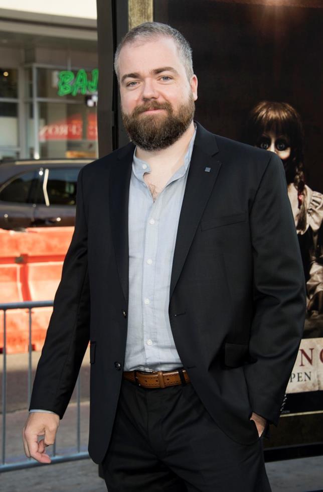 Mezza figura del regista David F. Sandberg